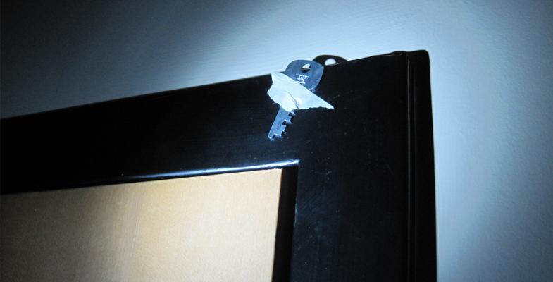 Key above the door